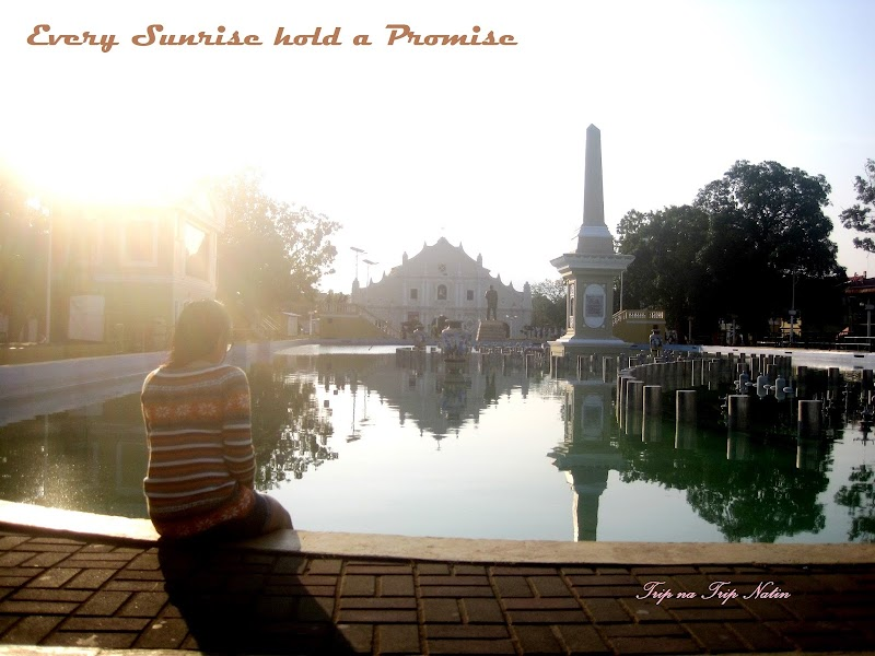 Plaza Salcedo,  Vigan Ilocos Sur - A Spot to Chill with Beautiful Sunrise