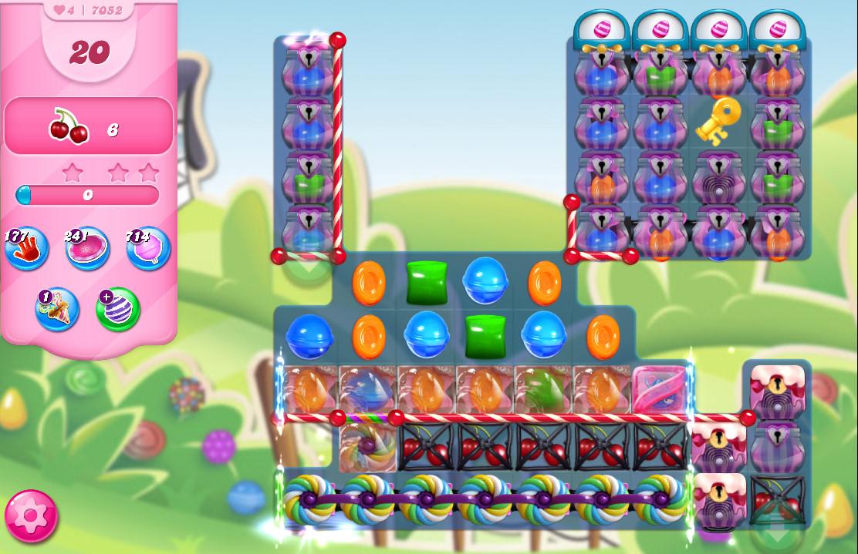 Candy Crush Saga level 7052