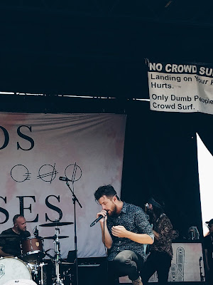 Courtney Tomesch Vans Warped Tour 2017 San Diego California Hands like Houses