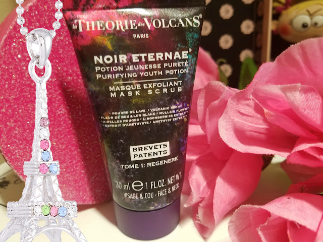 La Théorie des Volcans Masque Exfoliant Mask Scrub By barbies beauty bits and glossybox