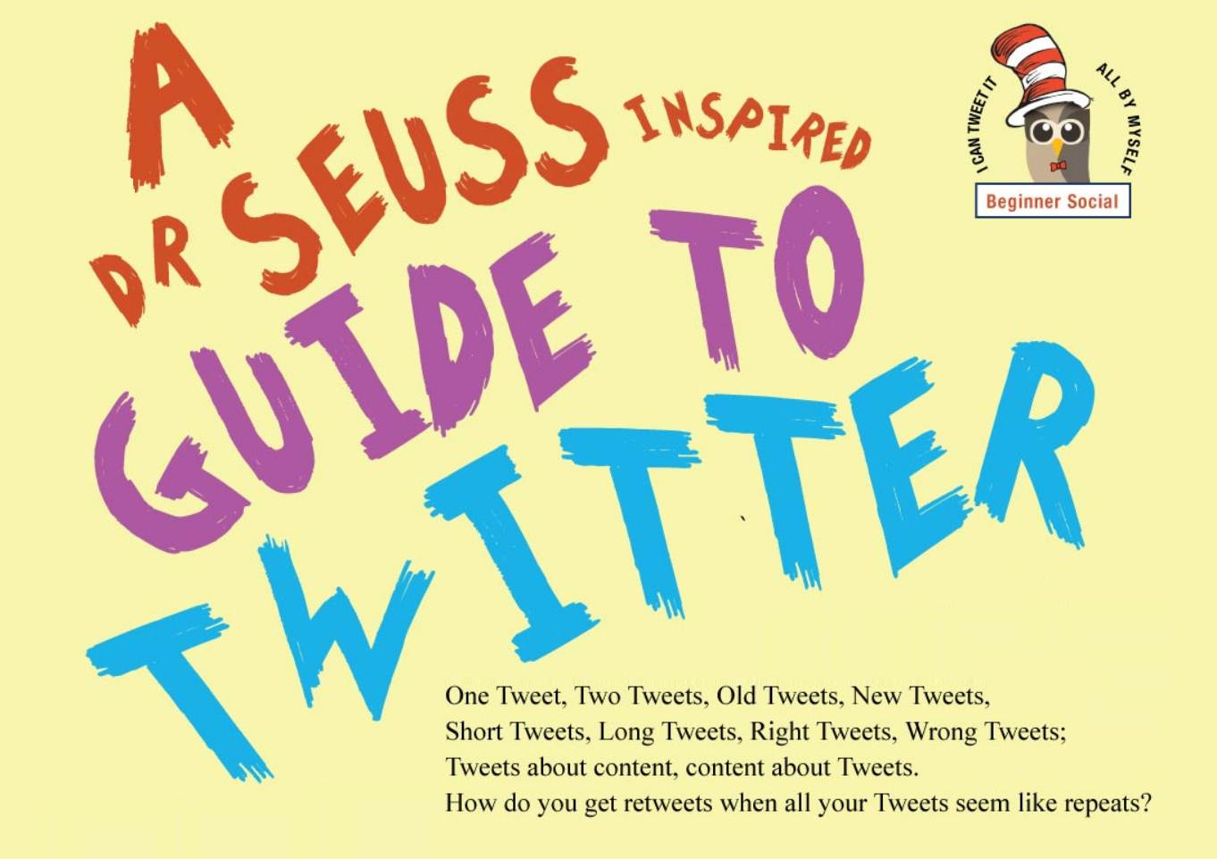 A Dr. Seuss-Inspired Social Media Rhyme - infographic