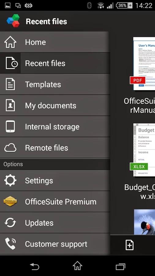 OfficeSuite 8 + PDF Editor Premium v8.4.4318