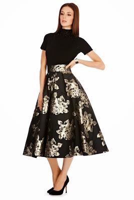 Coast Rita Midi Skirt