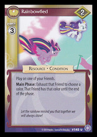 My Little Pony Rainbowfied The Crystal Games CCG Card