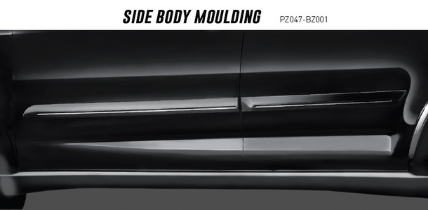 Side body moulding Toyota New Rush