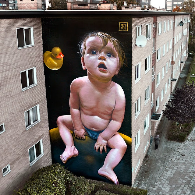 Street Art Mural By Telmo Miel For The Day One Festival In Antwerp, Belgium 4