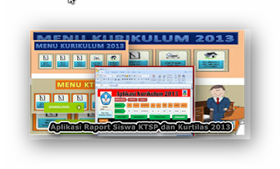 Aplikasi Raport Siswa Otomatis KTSP dan Kurtilas 2013 Versi Kemendiknas 2017/2018