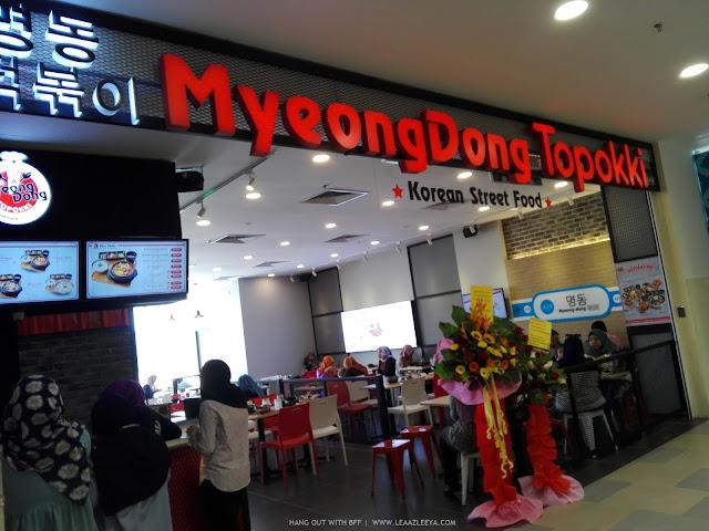 Hang Out Dengan BFF Sambil Pekena Makanan Korea Sedap, Makanan Korea Sedap, MyeongDong Topokki, Kuantan city mall, kaki wayang, black panther movie