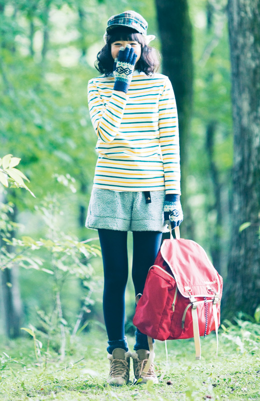 Mori Girl fashion and lifestyle of girls in the forest