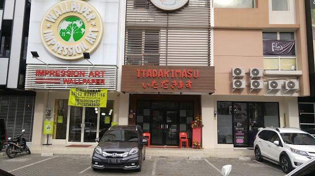 restoran ala Jepang Itadakimasu di kota Surabaya