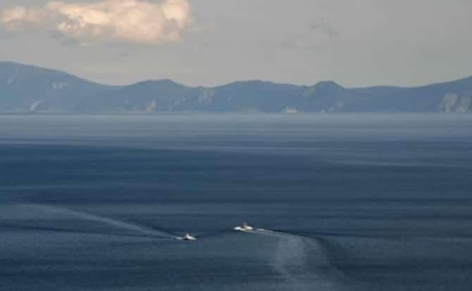 Mar, océano, barcos