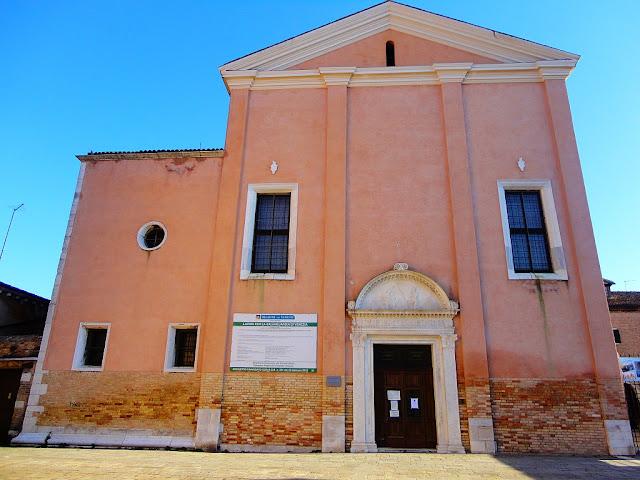 Benátský kostel Chiesa San Giobbe