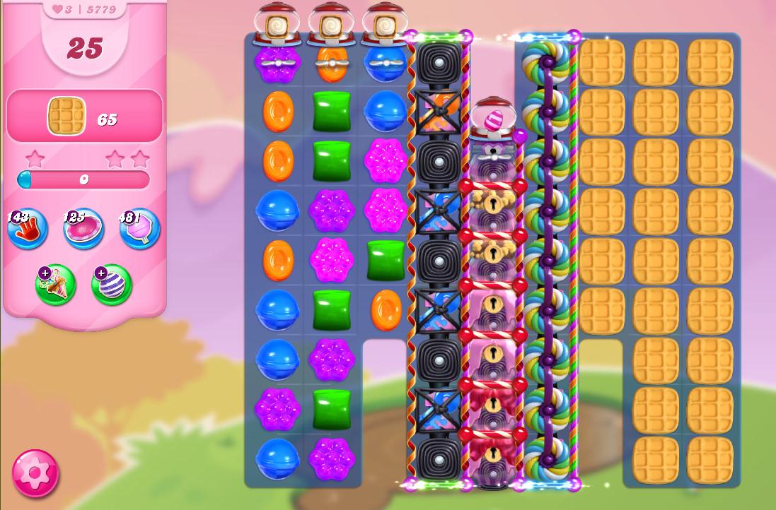 Candy Crush Saga level 5779