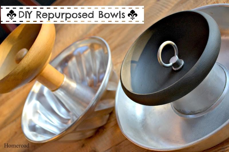Repurposed Bakeware Bowls