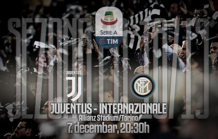 Serie A 2018/19 / 15. kolo / Juventus - inter, petak, 20:30h