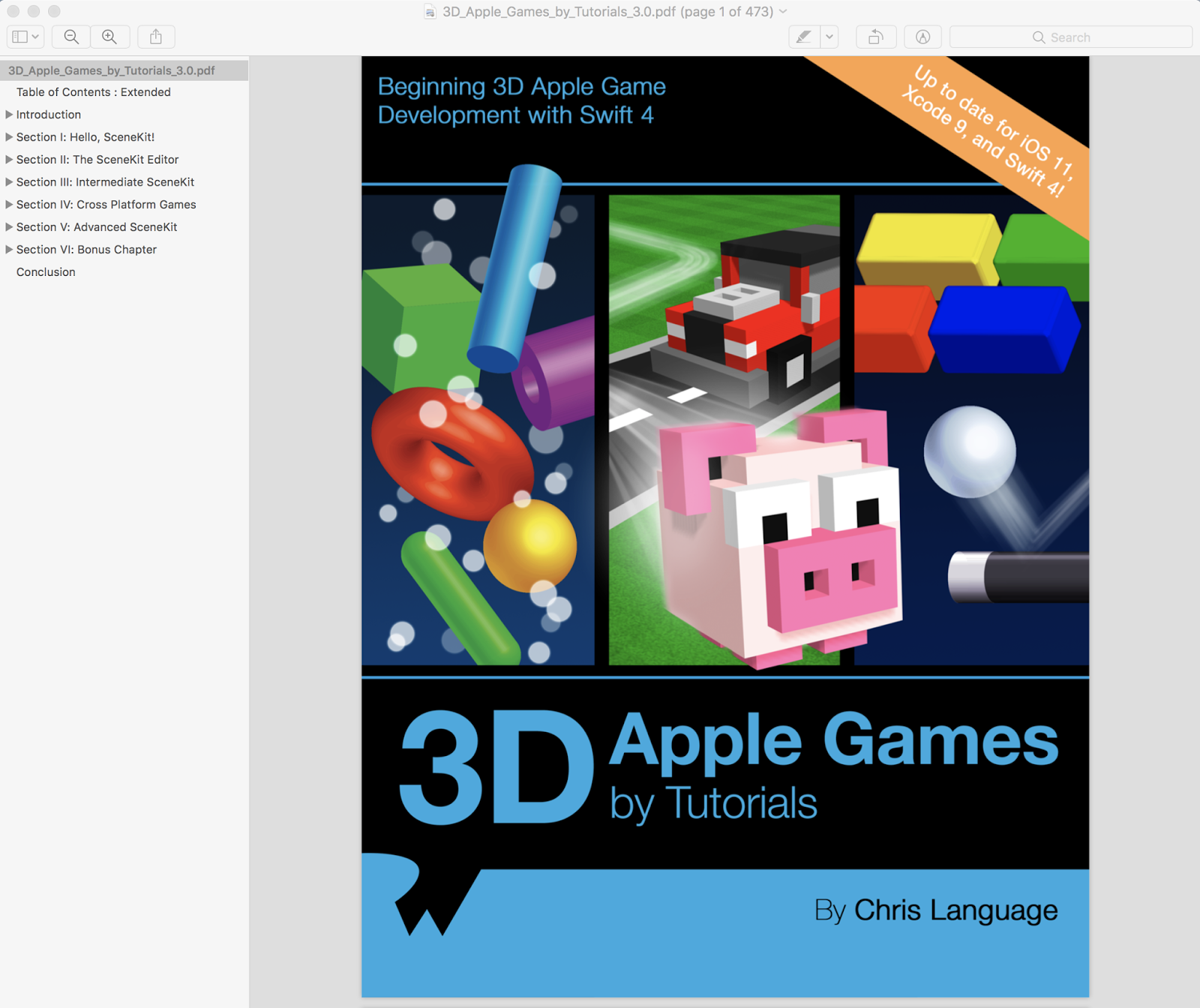Download pdf epub 3d apple games by tutorials begin 3d ios tvos 3d apple games by tutorials swift 4 ios 11 baditri Image collections