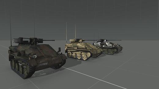 Arma3用MODのWiesel 1空挺戦闘車 Mk20仕様