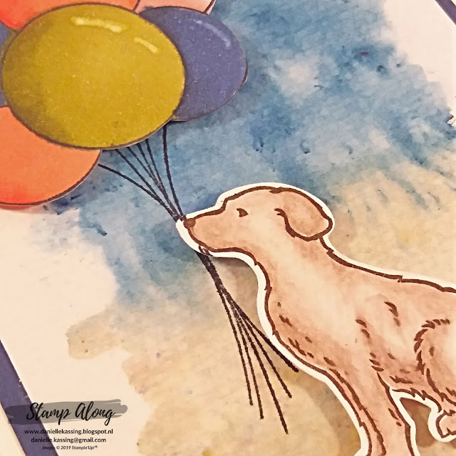 Stampin' Up! Happy Tails en Hand delivered
