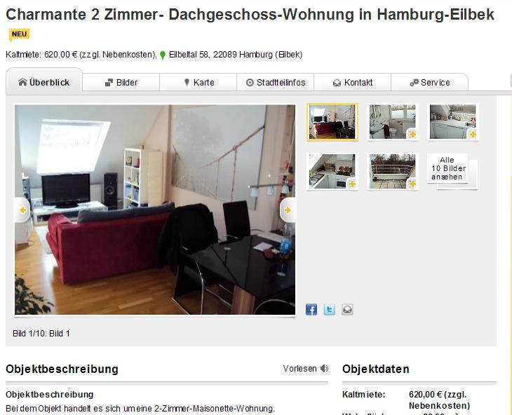 charmante 2 zimmer. Black Bedroom Furniture Sets. Home Design Ideas
