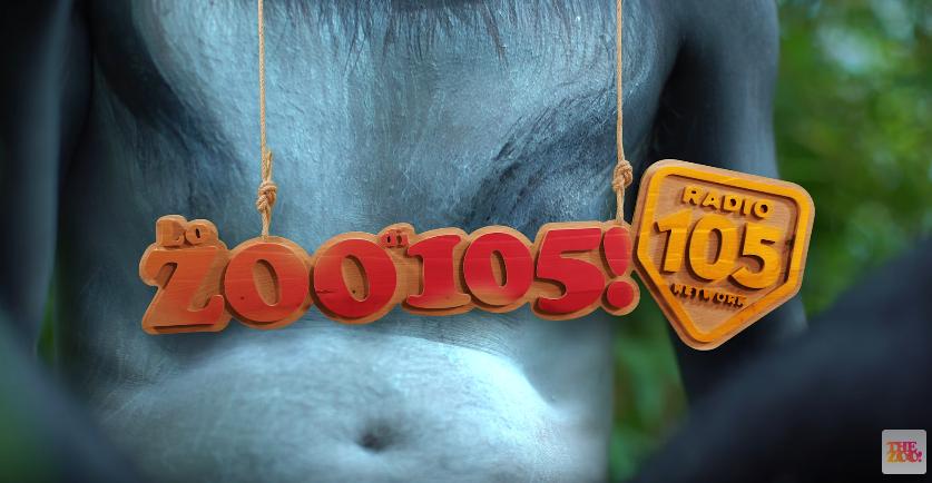 Canzone Lo Zoo di 105 pubblicità con persone travestite da animali - Musica spot Dicembre 2016