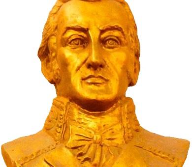 Imagen del busto de José Faustino Sánchez Carrión