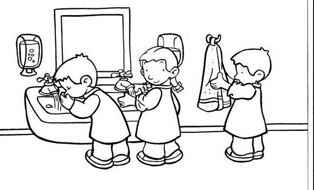 Dibujos Para Colorear De Educacion Inicial Gif Imagui