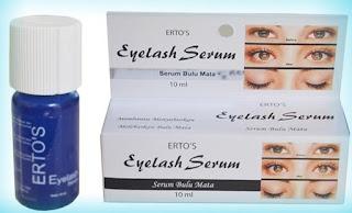 Ertos Eyelash Serum Penumbuh Bulu Mata Sudah BPOM