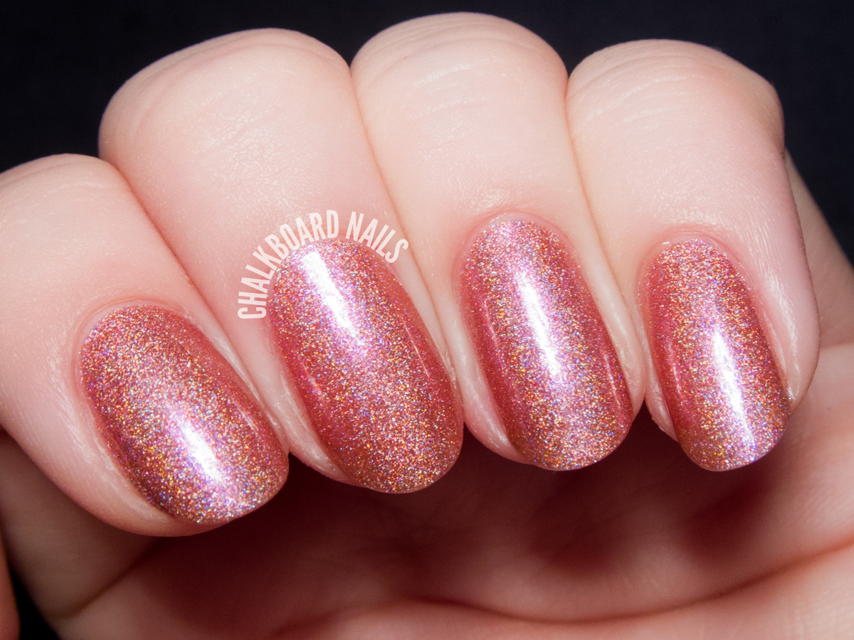 Serum No. 5 A Class Act via @chalkboardnails