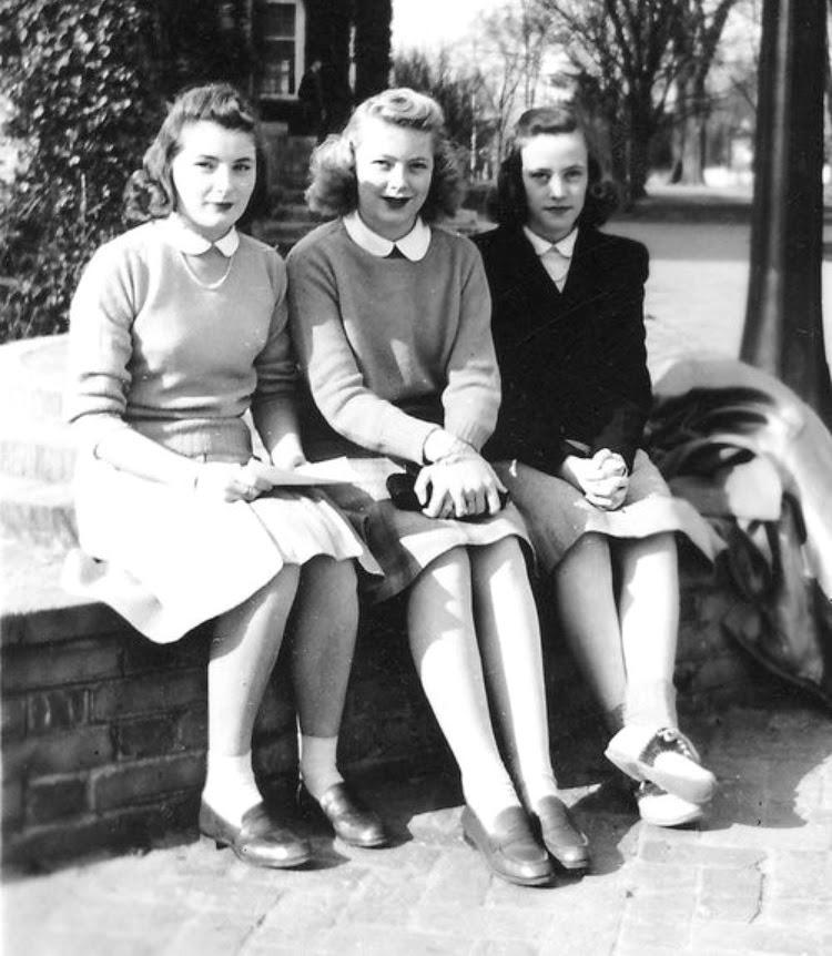 A Vintage Nerd Vintage School Girl Fashion Inspiration