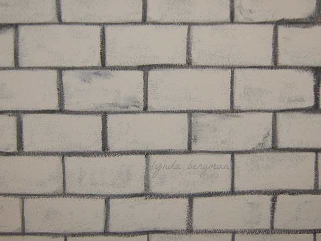 3d brick wall drawing lynda bergman decorative artisan drawing amp painting faux 341