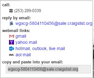 meat: Craigslist tractor scam (also other vehicles)