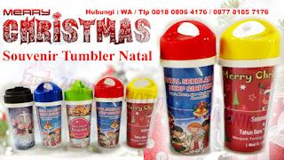 Tumbler/Botol Minum Untuk Souvenir Natal