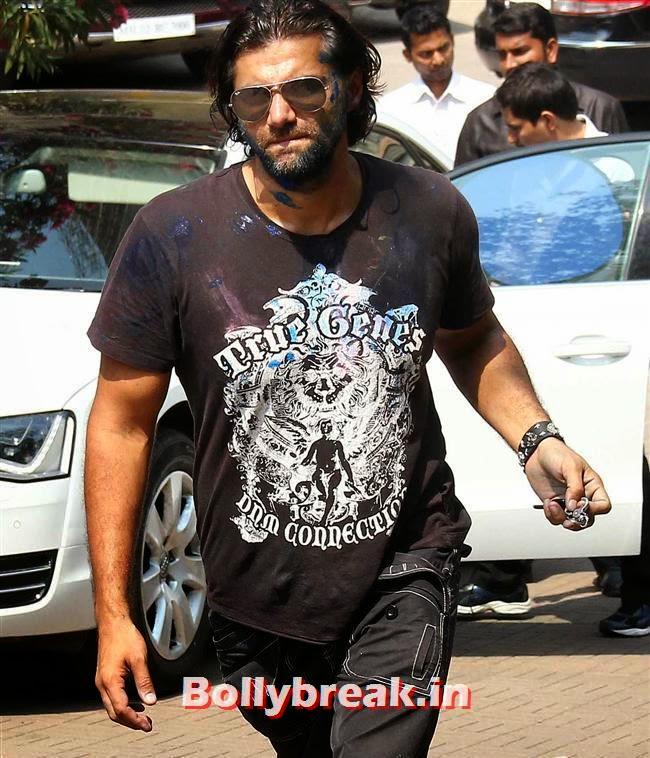 , Sanjay Gupta Bollywood Holi Party Pics 2014