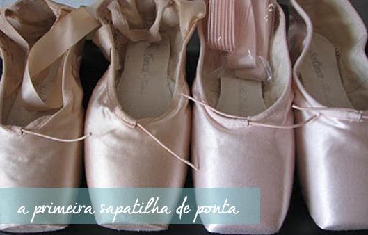 5244e97264 Mundo Bailarinístico  A primeira sapatilha de ponta!