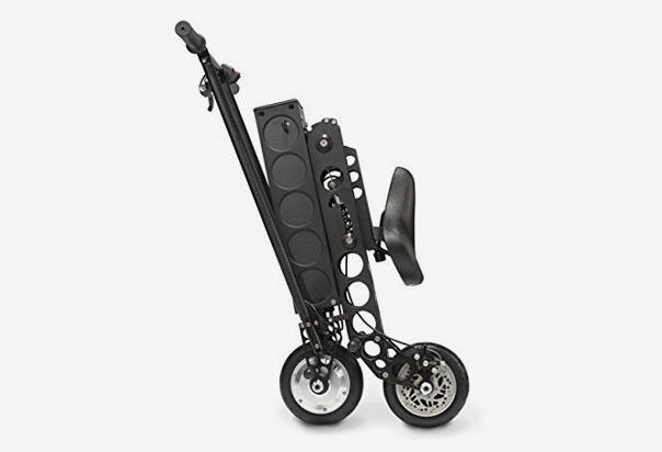 URB-E Scooter built using genuine carbon fiber and American aircraft-grade 6061 aluminum