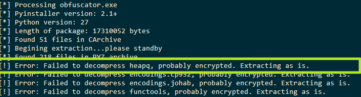 Coding | Reversing: Extracting encrypted pyinstaller executables