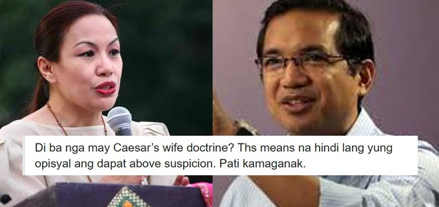 Lady lawyer reminds Teddy Casiño of Caesar's wife doctrine after he threatened to sue Krizette Chu for dragging children in social media spat | PTN