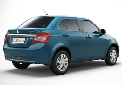 Maruti Swift Dzire AMT Automatic rear angle Hd Wallpapers