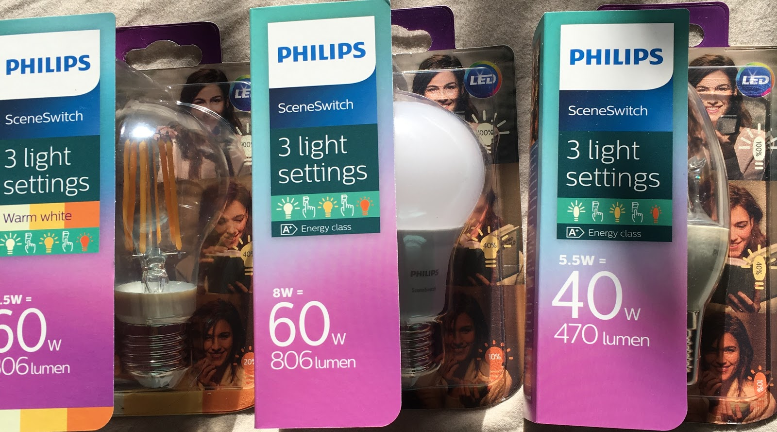 Philips Lampen Led : Ein stück heile welt : test philips sceneswitch led lampen