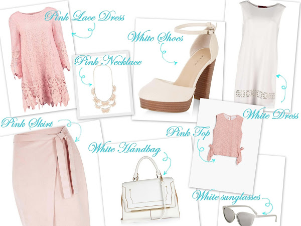 White & Pink Inspiration