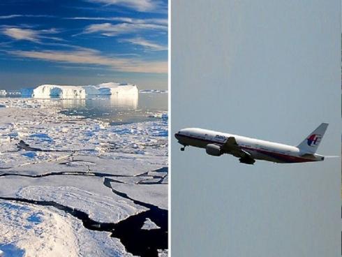 MH370 dibawa ke Antartika?