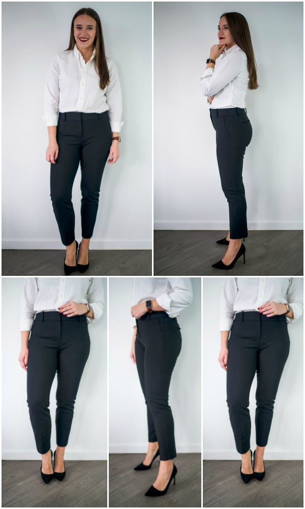 2c87b81dcc1 The Ultimate Work Pant Review by popular New York fashion blogger Covering  the Bases