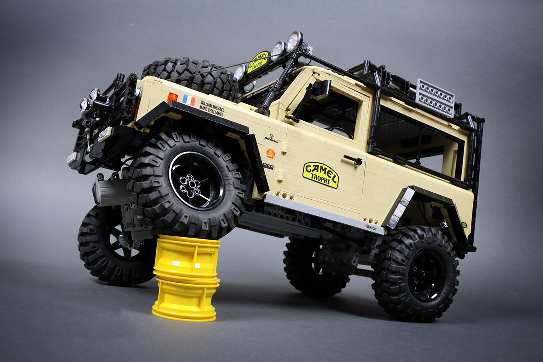lego rc land rover defender 90 teknolsun. Black Bedroom Furniture Sets. Home Design Ideas