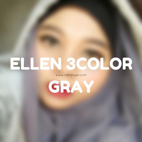 Contact Lenses : Ellen 3Color Gray*