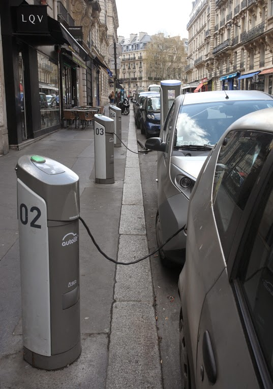 electric car re-charge point