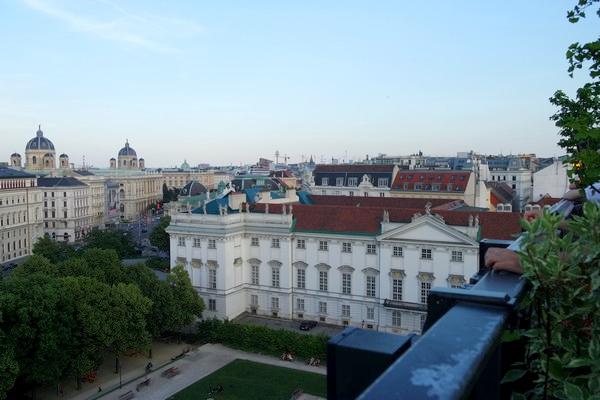 vienne rooftop bar 25hours hotel dachboden