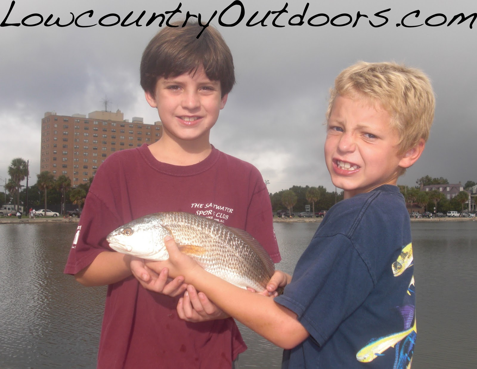 Lowcountry Outdoors Huck Finn Fishing In Colonial Lake