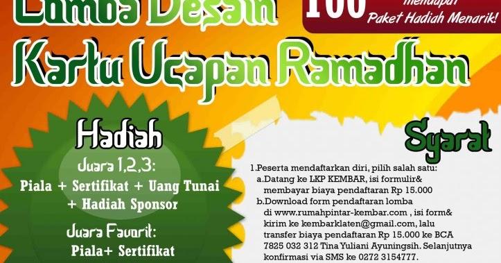 Lomba Desain Kartu Ucapan Ramadhan - Ramadhan Expo 2013