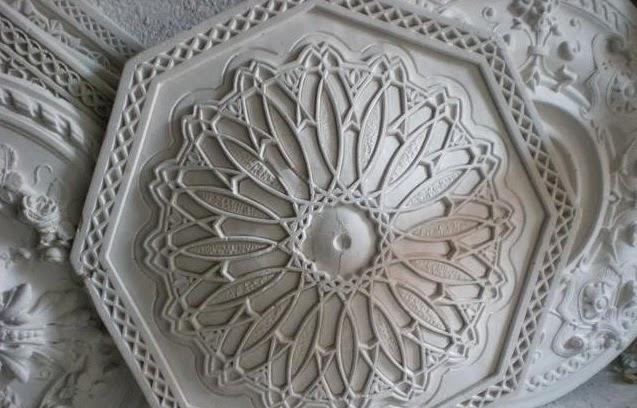 le journal d 39 artisanat marocain d coration de faux plafond tendu. Black Bedroom Furniture Sets. Home Design Ideas
