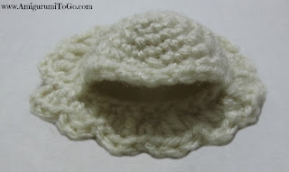 crochet bed cap